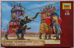 Zvezda 1/72 Z8011 War Elephants  3-1 BC (Ancients)